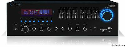 1500W HOME DIGITAL STEREO AMP AMPLIFIER RECEIVER SD SLOT USB INPUT BLUETOOTH NEW