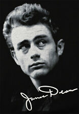 JAMES DEAN GALLERY T-SHIRT Classic Face With Signature