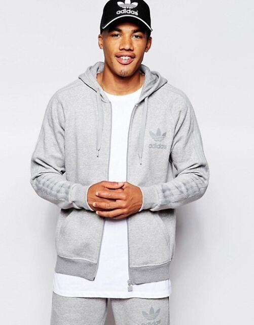 Details zu Adidas Originals SPO Trefoil Hoodies Mens Full Zip Sweatshirt Track Top Hoody