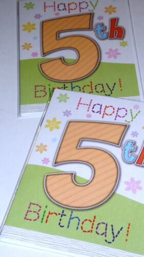 """AGE 5 GIRL CARDS X 12 JUST 27p /'STICHES/' TEXTURED BOARD-WRAPPED CODE HH 5/"""" X 7/"""""""