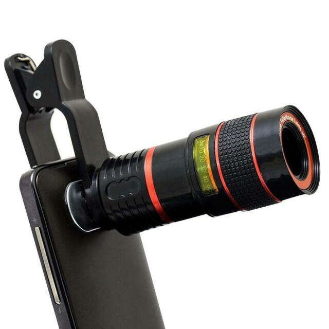 New Upgraded 8X Zoom Magnifier Optical Telescope Camera Lens for Mobile Phone SA