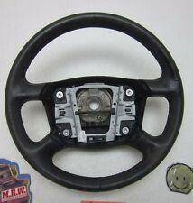 1998 98 AUDI A4 STEERING WHEEL BLACK LEATHER WRAPPED OEM 96 97 99 00 01