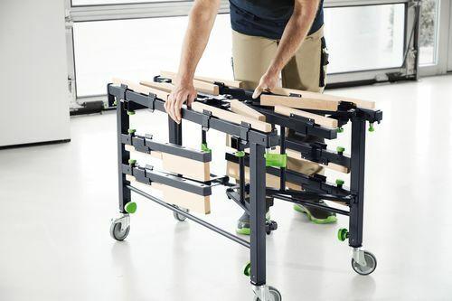 FESTOOL Scie Mobile-et table de travail STM 1800 Max Charge 150 kg 205183
