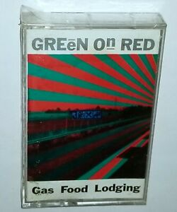 GREEN ON RED SEALED GAS FOOD LODGING ALTERNATIVE ENIGMA RECORDS 1985 ROCK ALBUM