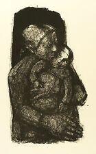 Hans Theo giudici-Ragazze, un bambino pienamente-LITOGRAFICO 1962