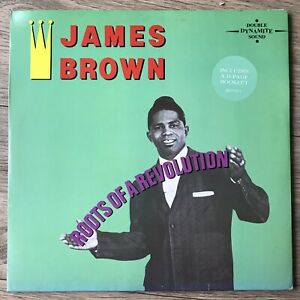 James Brown - Roots Of A Revolution GB 1983 Polydor Double LP Avec Attaché