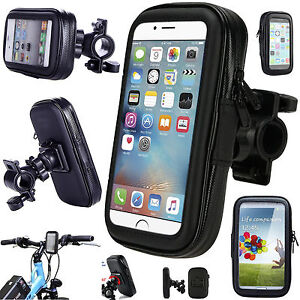 the latest 05115 97c2b Details about New 360 Degree Bicycle Bike Waterproof Case Mount Holder  Cover For Mobile Phones