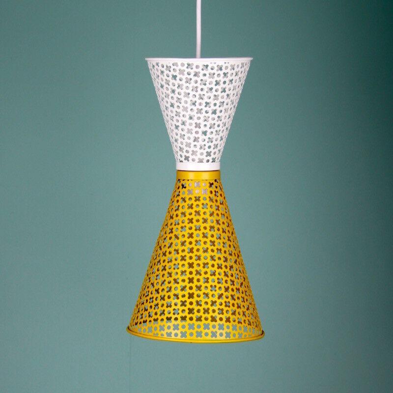 Mid cent modern double century lamp pendant rocket light small & medium Größe