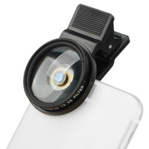Zomei for iPhone/Huawei/Samsung 12 5x Close Up Filters 37mm