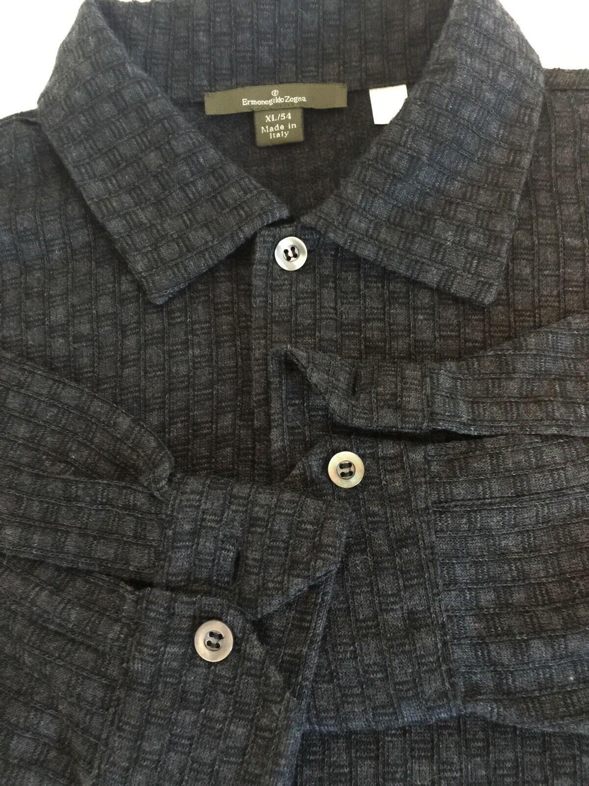 Ermenegildo Zegna Sweater grau Größe XL/54