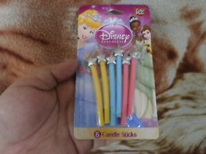 CLOSEOUT-SALE-Imported-From-USA-Disney-Princess-Birthday-Candles