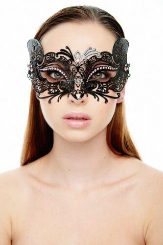 Fox Style Metal Filigree Masquerade Halloween Mask Fox Style Laser Cut Mask
