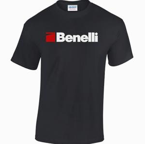 BENELLI Logo T-shirt//FUCILE ARMA DA FUOCO//Caccia//TIRO