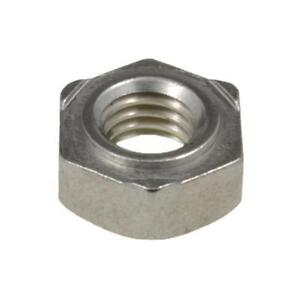 Hex Weld Nut M8 (8mm) Metric Coarse Stainless Steel A2-70 G304