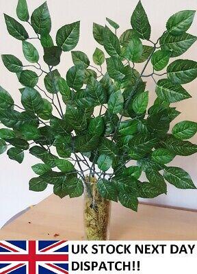 Prezzo Basso Edera Foglia Bouquet 60 Cm Verde Felce Pianta Fogliame Foglie Artificiale Fiore Della Vite- Elegante Nello Stile