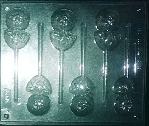 EASTER CHICK HATCHED CHOCOLATE LOLLIPOP MOULD