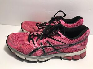 Details about Usedworn (read Desc) Asics Gt 1000 Pink Breast Cancer Running Shoes Womens Sz 6