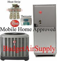 Rheem 2 Ton 15.5 Seer A/c Split System Ra1424aj1 Mobile Home Approved on Sale