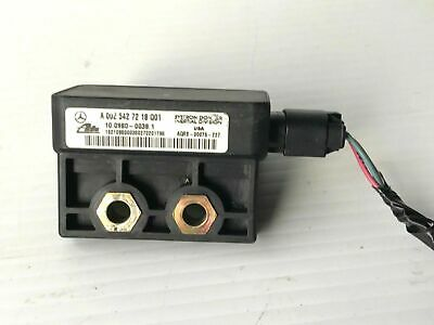 01-03 MERCEDES SLK ML C240 YAW RATE SENSOR TRACTION CONTROL A0025427218 Q01