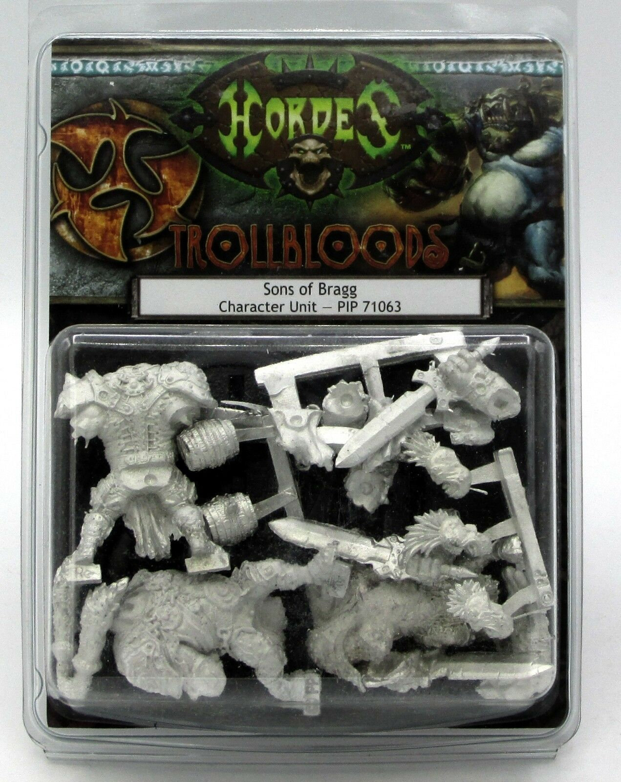 Hordes PIP71063 Sons of Bragg (Trollbloods) Fell Caller Character Unit Trolls