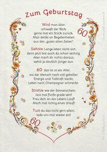 Geburtstagsgeschenk Urkunde 18 20 30 40 50 60 65 66 70 75 80 90