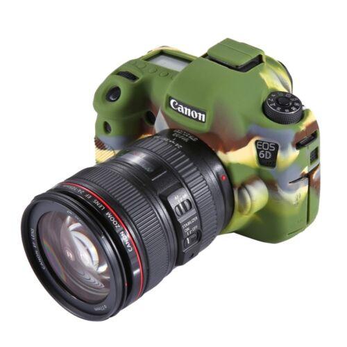 COVER CASE SILICONE FOR Photo Camera Canon EOS 6D