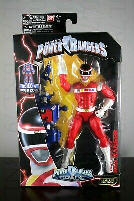 """RED RANGER Legacy Power Rangers in SPACE Collection Figure 6.5/"""" PRiS Andros MISB"""