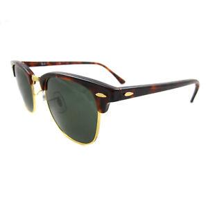 Ray 15 Sol Havana Pequeño 3016 G Clubmaster 49mm De Verde Ban Gafas W0366 Detalles AL5R3j4