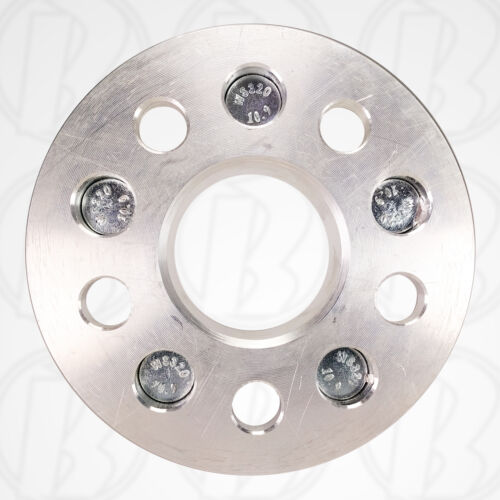 """4 USA MADE 5 Lug 5/"""" To 5 x 5/"""" Wheel Adapters 1/"""" Spacers 12mm 1.5 Studs /& Nuts"""