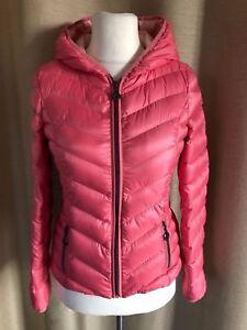 Details zu ESPRIT leichte Damen Mädchen Daunen Jacke Daunenjacke rosa Größe 34