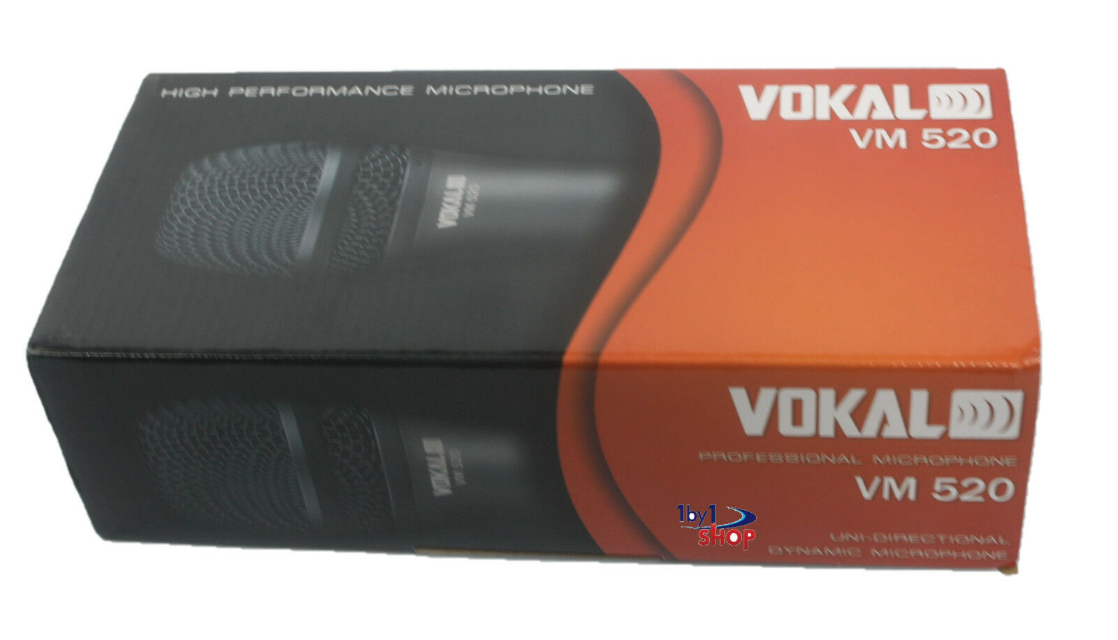 Dynamic Unidirectional Microphone VM-520 By Vokal -Factory Sealed