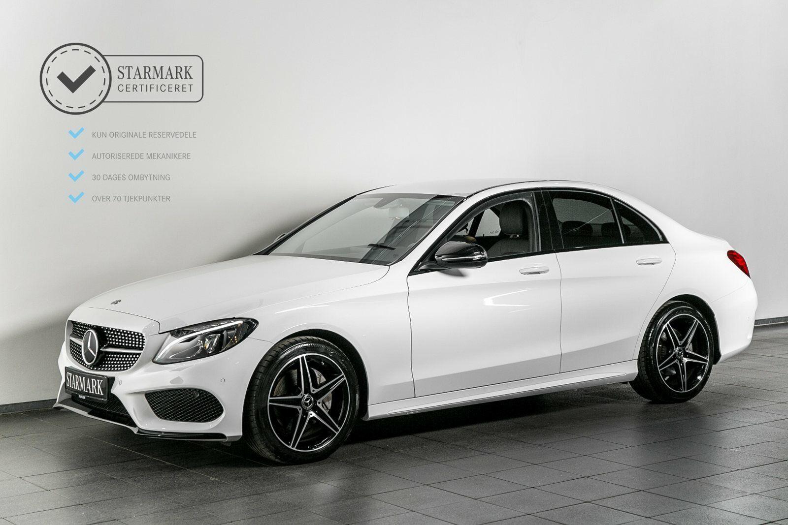Mercedes C220 d 2,2 AMG Line aut. 4d - 439.900 kr.