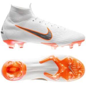 Nike Mercurial Superfly VI Elite FG WC 2018 DF Soccer Shoes White ... baaaaeba6