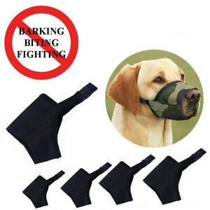 XXS-XXL-Dog-Puppy-Muzzle-Stop-Barking-Bite-Mesh-Mask-Mouth-Cover-Training-Safety