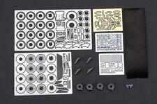 Hobby Design 1/24 Ferrari F40 Detail-up Set for Tamiya (Resin+PE+Metal Parts)