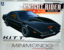 KIT KNIGHT RIDER KITT SEASON ONE SERIE TV SUPERCAR 1/24 AOSHIMA 04127