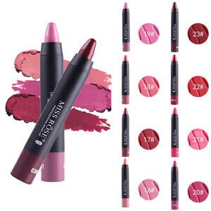 Rouge-a-levres-Crayon-Mat-Longue-Tenue-Matte-Metallique-Hydratant-Cosmetique