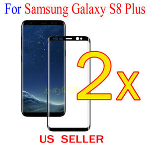 2x-Full-Cover-Curved-Clear-Screen-Protector-Guard-Film-Samsung-Galaxy-S8-Plus
