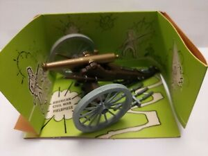 Britains-Deetail-ACW-Civil-War-Napoleonic-9726-Field-Gun-With-Ammo-Boxed