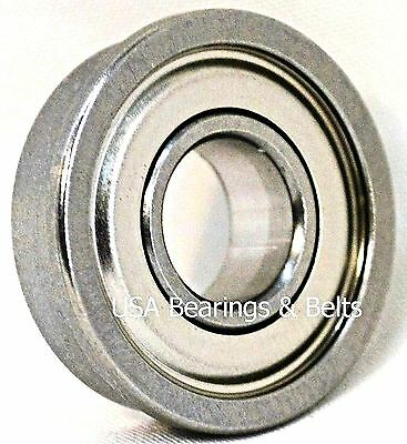 "FR4-ZZ C3 Flanged Premium Shielded Ball Bearing 1//4/""x5//8/""x.196/"""