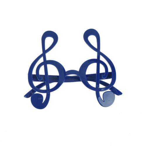 treble clef musical notes glasses sunglasses unisex costume party gift favorsTFS