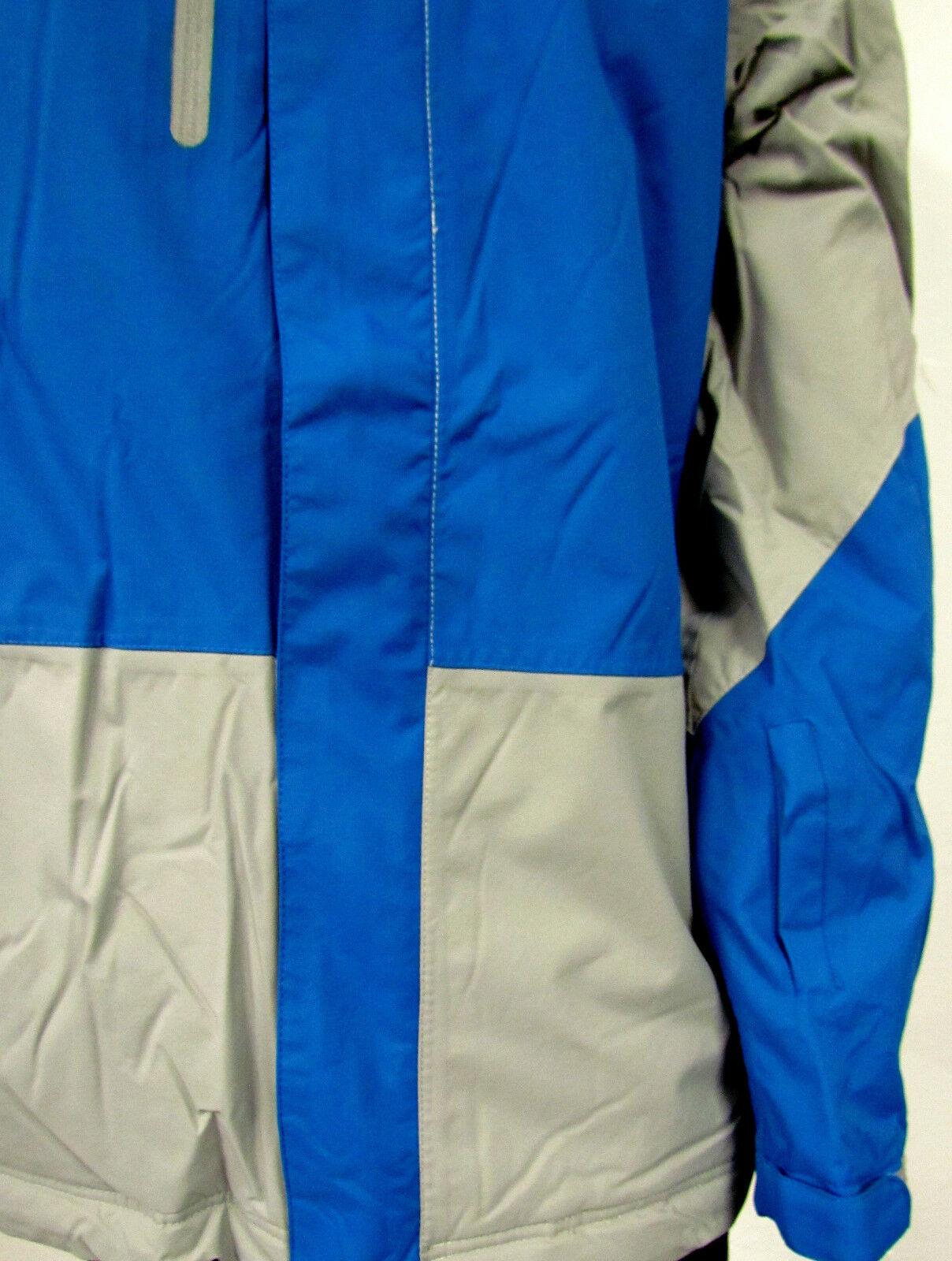 Neuf Homme Fonctionnel en Gris plein Air les Veste Gris en Bleu Couleur Pétrole Capuche 88bac5