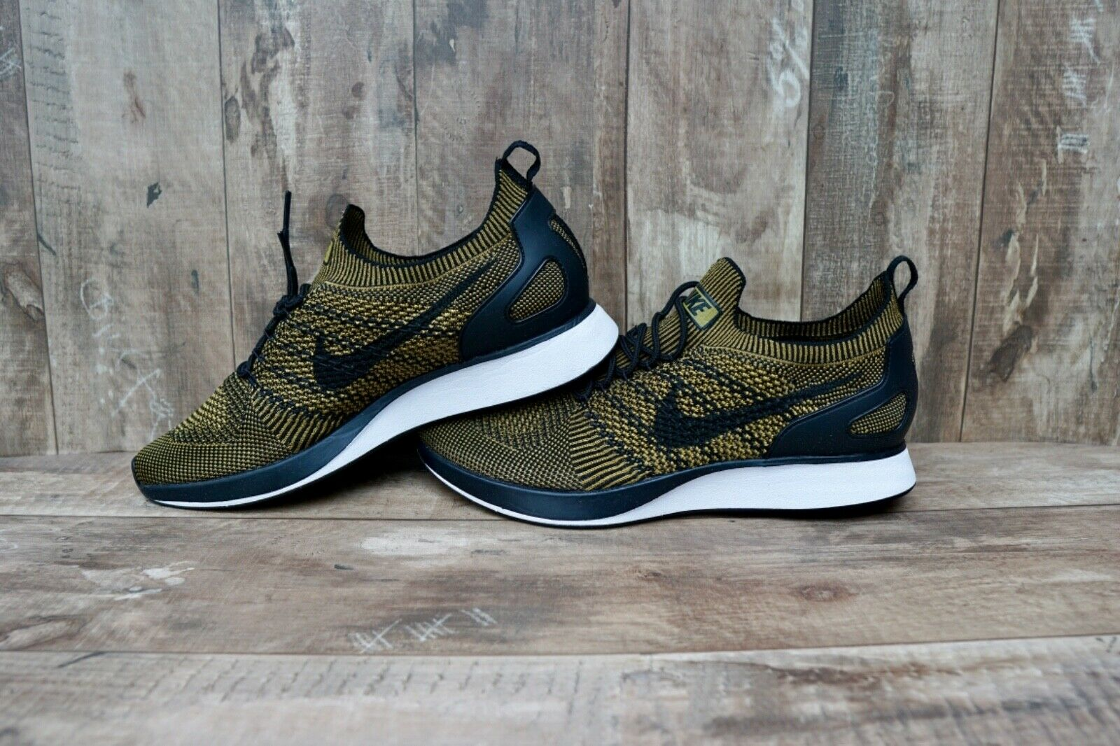 0b561ec758ec Nike Air Zoom Mariah Flyknit Racer Men s shoes Black Black Black Desert Moss  6d0c10