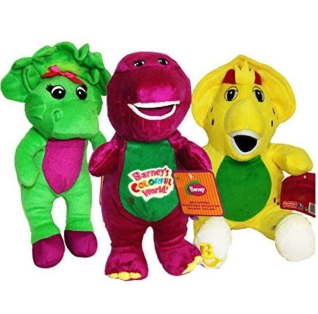 Barney and Friends Baby Bop Bj Plush 12