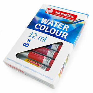 Royal-Talens-Art-Creation-Watercolour-Paints-Beginners-Set-8-x-12ml-Tubes
