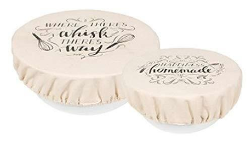 Now Designs Homemade Happiness Bowl Covers 2023018 Set of 2