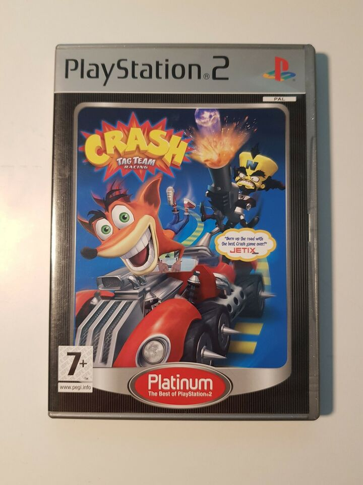 Crash Tag Team Racing, PS2