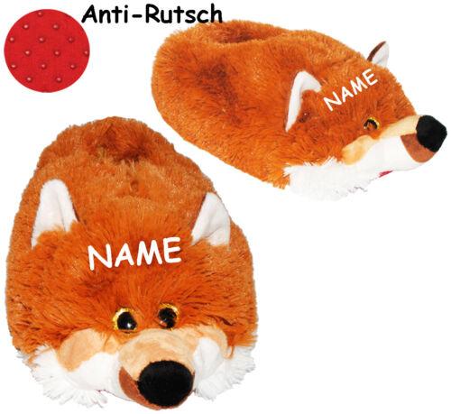 """29-48 /_/_ schön warm /_/_ Plüschha Größe Gr Hausschuhe // Pantoffel /"""" Fuchs /"""""""