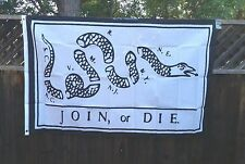 Don't Tread On Me JOIN OR DIE Flag TEA PARTY Dont tread on me Gadsden