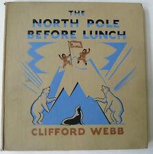 North Pole, Nordpol, english books illustrated, Illustrierte Bücher,